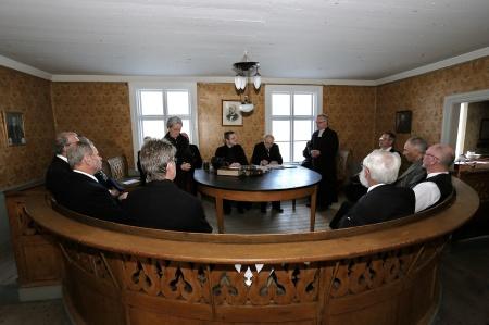 Rättegången mot Kyrkoherden Anders Lindbäck.