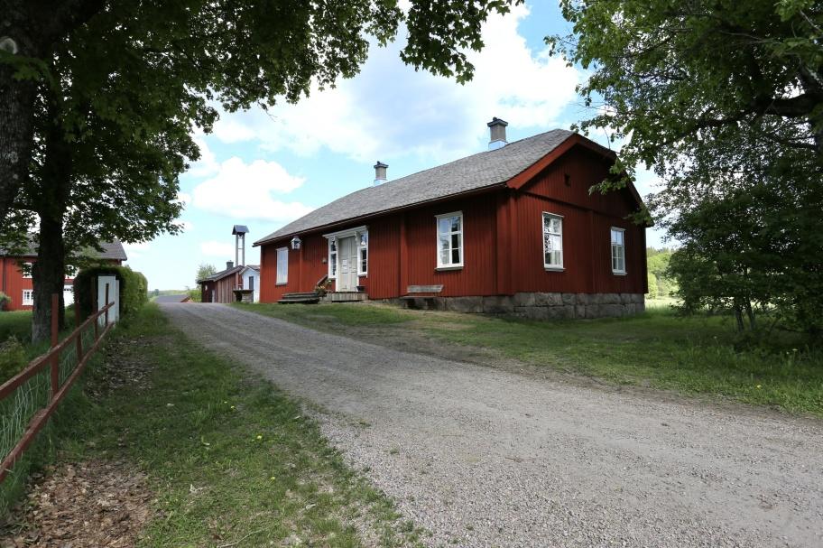 23 maj 2018 - Långelanda Tingshus efter renoveringen.