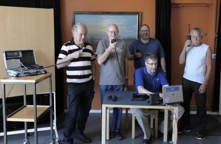Medlemmar i Årjängs sändareamatörer.