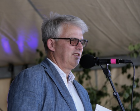 Ove Lindström höll ihop nationaldagsfirandet.