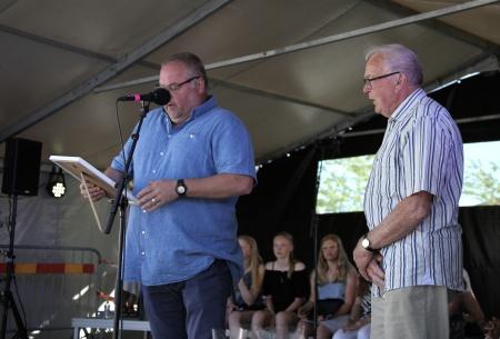 Mårten Karlsson från Kultur- och Fritidsnämnden meddelade att John Nilsson tilldelas årets Ungdomsledarstipendium, och Mårten Karlsson läste motiveringen.