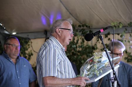 John Nilsson tackade för utmärkelsen.