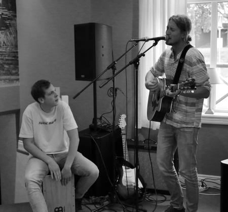 Marcus Erkenfjord och Viktor Ejwertz