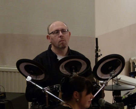 Dan Edvinsson - trummor