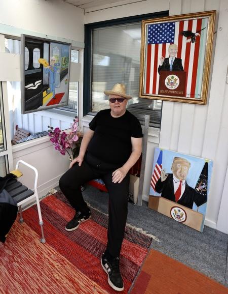 Jerry Jakobsson - Karaktärsmålare och Ambassadörskock