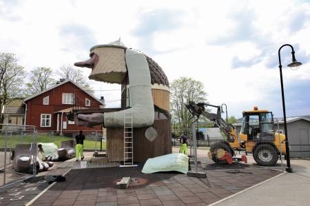 21 maj 2019 - Renoveringen har startat.