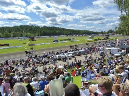 Sommartravet i Årjäng - en publiksuccé.