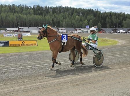 Tröstads Tyra med Isabelle Hansen