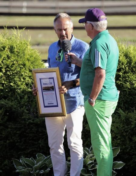 Segraren i Årjängs Stora Sprinterlopp får inbjudan till loppet Hugo Åbergs Memorial på Jägersro travbana 31 juli 2018.