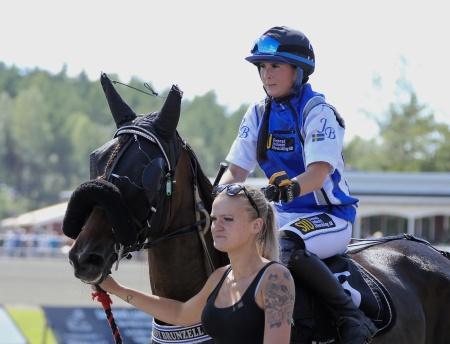 Vinnies lopp, ett Montélopp, vanns av Jenny Brunzell på hästen Quantum Nikita.
