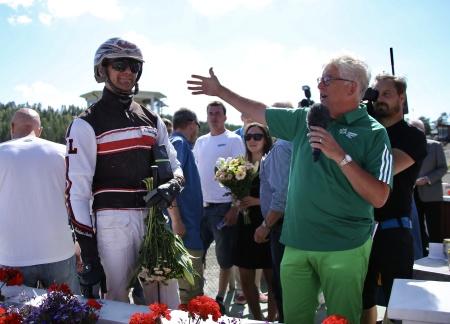 Kristian Lindberg ordnade en praktskräll när han vann med Edindy.