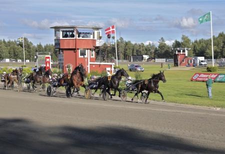 Ett varv kvar av Årjängs Stora Sprinterlopp.