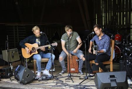 Gruppen Wolver från Karlstad, som deltog i musiktävlingen P4 Nästa 2019.
