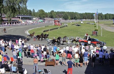 Start i Årjängs Stora Sprinterlopp.