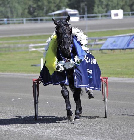 Magic Tonight vinnare i Årjängs Stora Sprinterlopp.