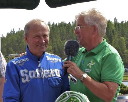 Kusken och travtränaren Olle Goop valdes in i Hall of Fame.