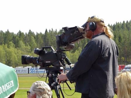 Travtävlingen direktsändes i TV4.