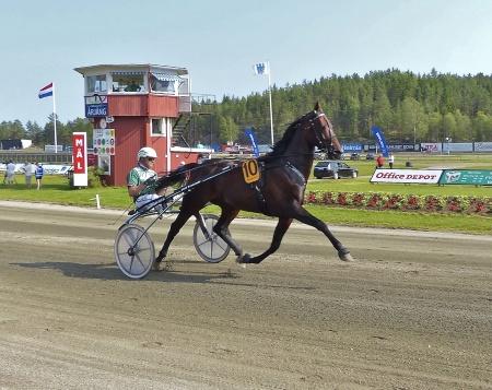 Årjängs Stora Sprinterlopp - Häst nr 10 Sebastian K. - Åke Svanstedt