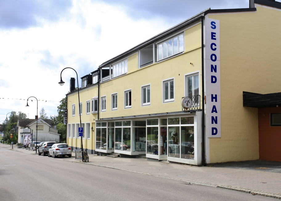 Pingstkyrkans Second Hand - välsorterad Second Hand butik vid Storgatan i Årjängs centrum.