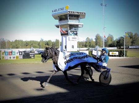 Nikki Nonstop med Emma Johansson segrade i Unionstravets Ponnykamp 2019.