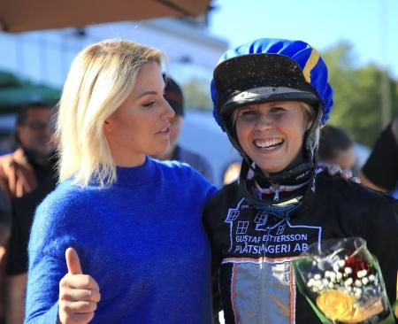 Sofia Aronsson och Emilia Leo.