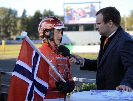 Tom Erik Solberg intervjuades efter segern i Unionskampen 2019.