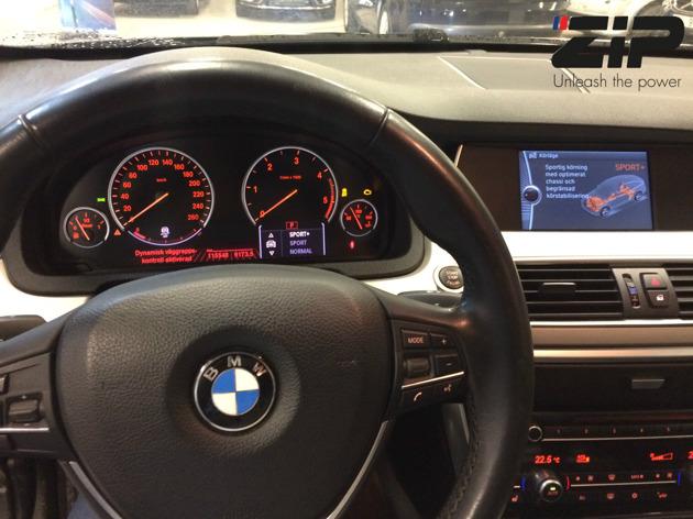 Interiör Bmw 530xd GT