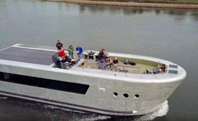 Watertaxi Stockholm boat fleet