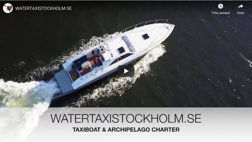 watertaxi stockholm