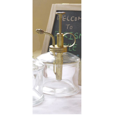 Dusch-Spray  300ml - Dusch-Spray glas+mässing