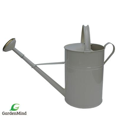 Vattenkanna GardenMind rund, 12 liter utomhus olika färger - Vattenkanna rund, 12 liter grå