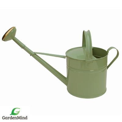 Vattenkanna GardenMind rund, 8 liter utomhus olika färger - Vattenkanna rund, 8 liter salviagrön