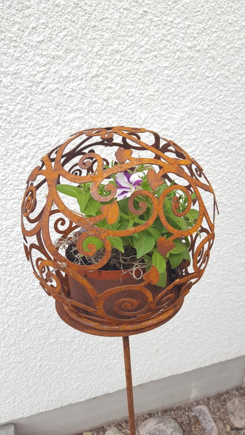 Blomklot med blomma