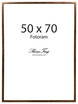 Tavelram 50 x 70 för stora posters - Fotoram 50 x 70 cm