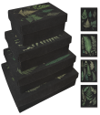 Pappersboxar Sköna Ting (4 st) - Pappersboxar ormbunke