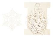 Snöflingor i snöre Ib Laursen