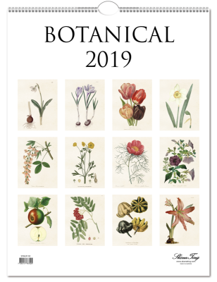 Almanacka  Botanical 2019 Sköna Ting - Almanacka Botanical 2019 Sköna Ting