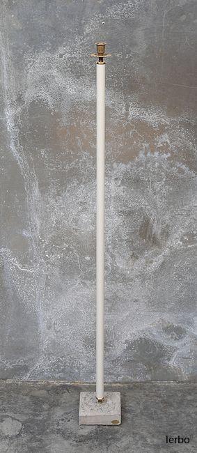 ljusstake vit 105 cm