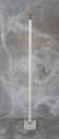 Ljusstake golv med cementfot vit two faces - Ljusstake Vit H=145 cm