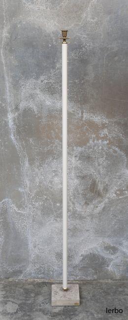ljusstake vit 145 cm