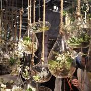 Glasdekoration med rep