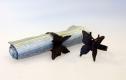Servettringar 4-pack fjäril