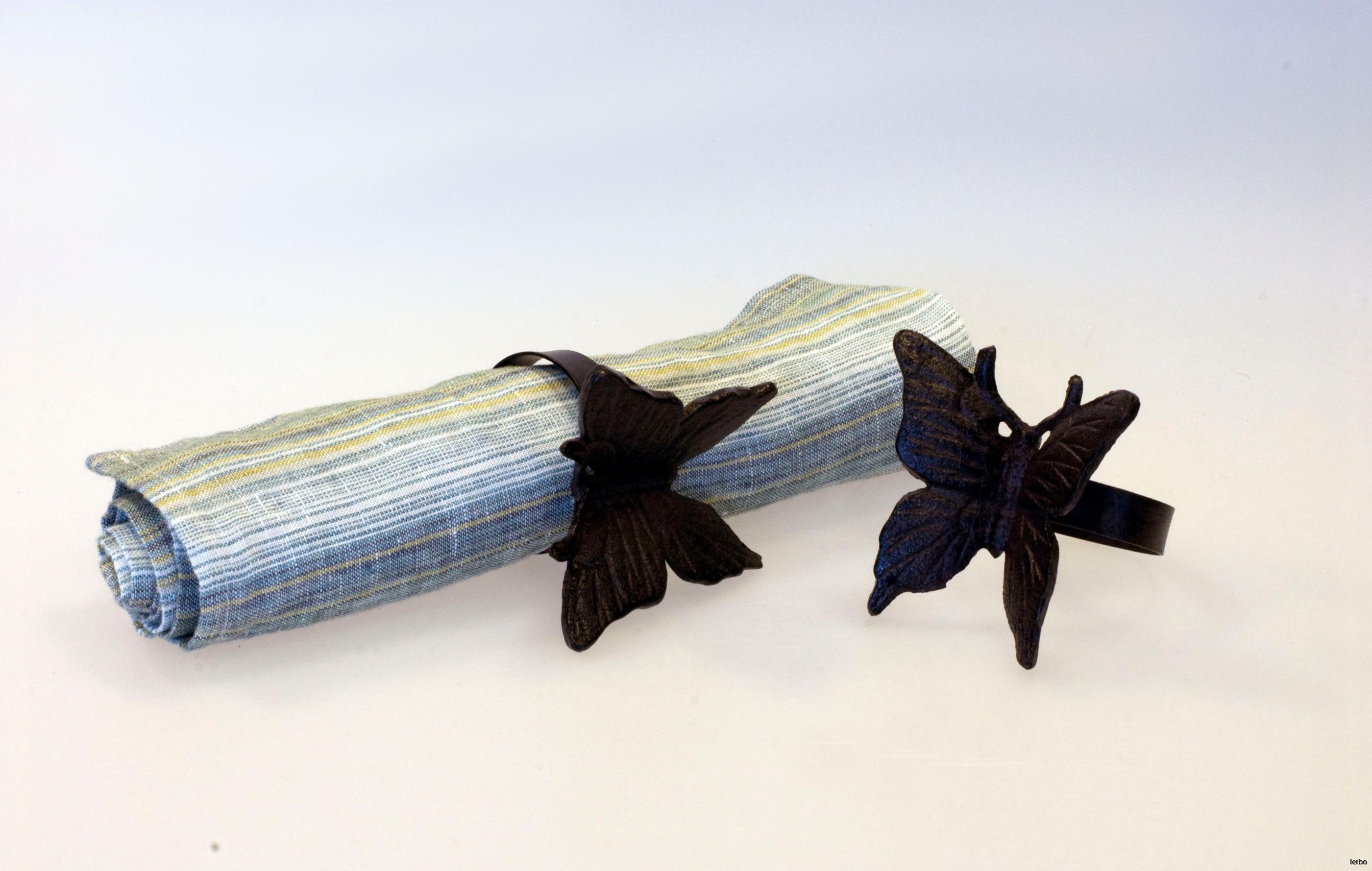 servettringar fjäril 2
