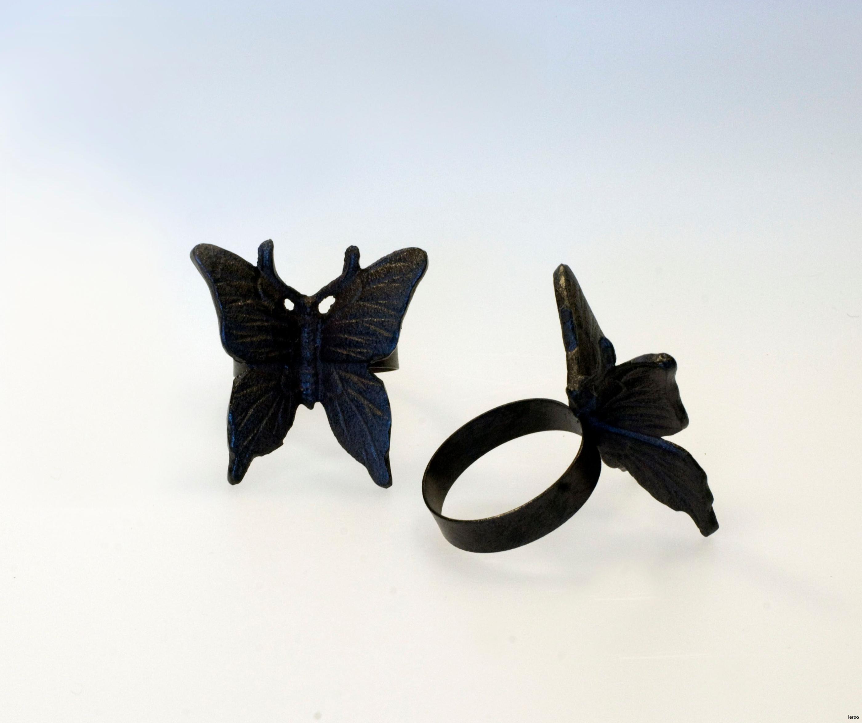 servettringar fjäril 3