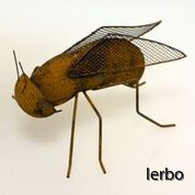 rostig fluga