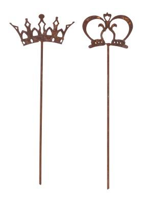 Dekoration Kung och Drottning 2 set ELDgarden - Dekoration Kung och Drottning 2 set ELDgarden