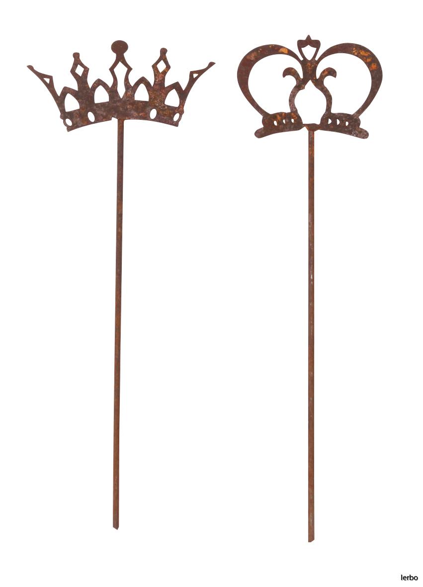 dekoration kung och drottning 2 set