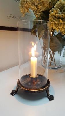 Ljuslykta med ankfötter ELDgarden - Ljuslykta med ankfötter ELDgarden