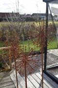 Trädgårdsdekoration Allium rost Wikholm Form