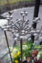 Trädgårdsdekoration Franka blomma  Wikholm Form